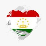 Flag of Tajikistan Royalty Free Stock Photo