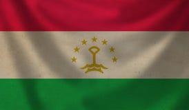 Flag of Tajikistan. Royalty Free Stock Photo
