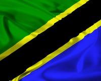 Flag of Tanzania Stock Image