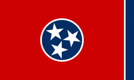 Flag of Tennessee Royalty Free Stock Images
