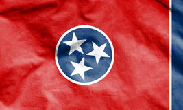 Flag of Tennessee, USA. Royalty Free Stock Images
