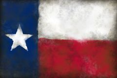 Flag of texas. Abstract background illustration - flag of texas Royalty Free Stock Image