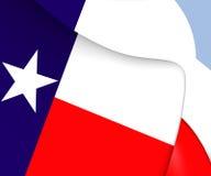 Flag of Texas, USA. Stock Photos