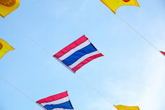 Flag of Thailand. Royalty Free Stock Images