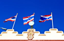 Flag of thailand. Royalty Free Stock Photography