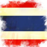 Flag of thailand Stock Photography
