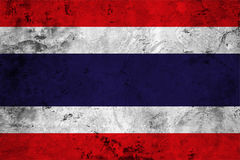 Flag of the Thailand close up Stock Photography