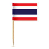 Flag of Thailand. Flag toothpick 10eps Royalty Free Stock Photos