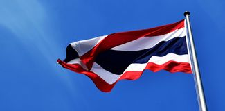 Flag of Thailand Royalty Free Stock Photos