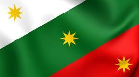 Flag of the Three Guarantees Stock Photos