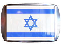 Flag to Israel Royalty Free Stock Photography