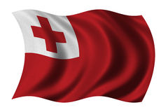 Flag of Tonga Royalty Free Stock Photos