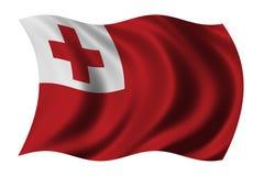 Flag of Tonga Royalty Free Stock Photos