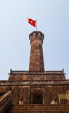 Flag Tower of Hanoi (1812, UNESCO site), Vietnam Royalty Free Stock Photos