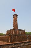 Flag Tower of Hanoi (1812, UNESCO site), Vietnam Royalty Free Stock Image