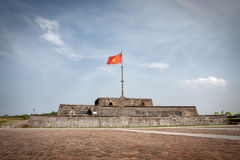 The Flag Tower (Vietnam) Stock Photo
