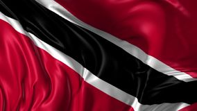 Flag of Trinidad stock video footage