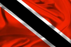 Flag of Trinidad Tobago Royalty Free Stock Photography