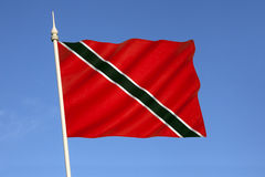 Flag of Trinidad and Tobago - Caribbean Royalty Free Stock Image