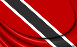 Flag of Trinidad and Tobago Royalty Free Stock Photos