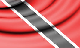Flag of Trinidad and Tobago. Stock Photography