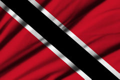 Flag of Trinidad and Tobago Royalty Free Stock Images