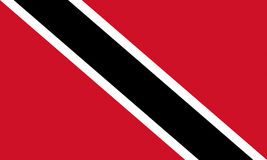 Flag of Trinidad and Tobago Stock Photos