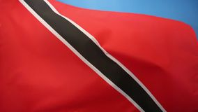 Flag of Trinidad and Tobago. The flag of Trinidad and Tobago was adopted upon independence from the United Kingdom on August 31, 1962 stock footage