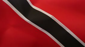 Flag of Trinidad and Tobago stock video