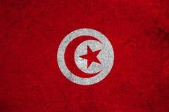 Flag Tunisia Stock Image
