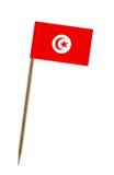 Flag of Tunisia Stock Photography