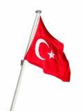 flag turken Arkivfoton