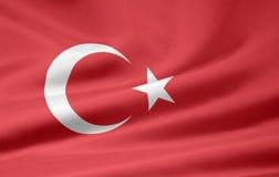 Flag of turkey royalty free stock image