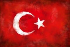 Flag of turkey Royalty Free Stock Photos
