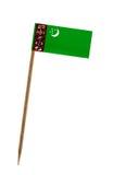 Flag of Turkmenistan Stock Images