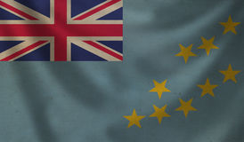 Flag of  Tuvalu. Stock Photography