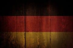flag tysken Royaltyfri Foto