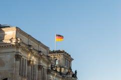 flag tysken Royaltyfria Foton