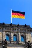 flag tysken Arkivfoton