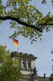 flag tysken Royaltyfria Bilder