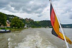 flag tysken Arkivfoto