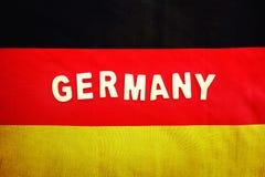 flag tysken Arkivbilder