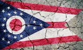 Flag of the U.S. state of Ohio royalty free illustration