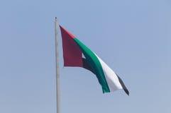 Flag of UAE Stock Photo