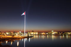Flag of the UAE in Sharjah Stock Photos