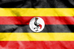 Flag of Uganda. Stock Photo