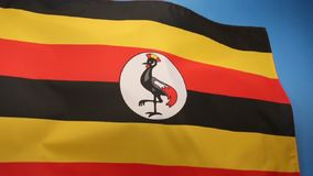 Flag of Uganda Royalty Free Stock Image
