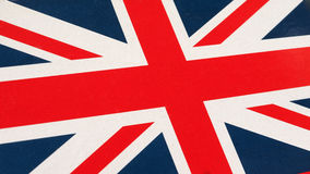 Flag of UK Stock Image