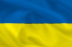 Flag of Ukraine Royalty Free Stock Photo