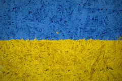 Flag of Ukraine royalty free stock photography